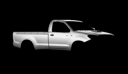 Цвета кузова Hilux Single Cab